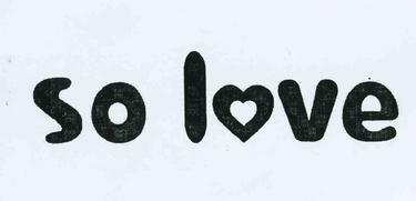 SO LOVE44商标分类